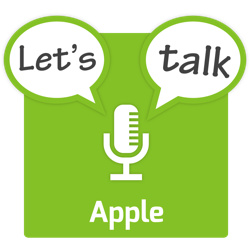 Let's Talk Apple Logo